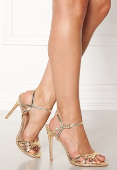 New Look Scope PU Strappy Sandal Gold Bubbleroom.eu