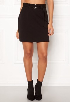 New Look Scuba Crepe Skirt Black Bubbleroom.eu