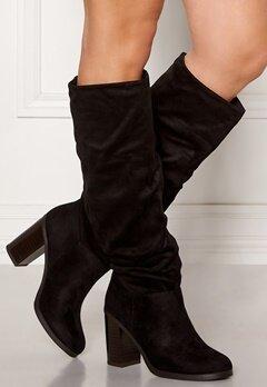 New Look Slouch High Leg Boots Black Bubbleroom.eu