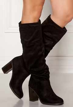 New Look Slouch High Leg Boots Black Bubbleroom.eu