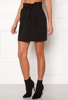 New Look Tie Waist Mini Skirt Black Bubbleroom.eu