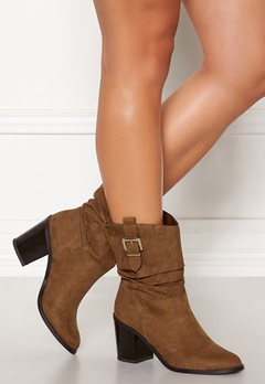 New Look Western Mid Calf Boots Tan Bubbleroom.eu