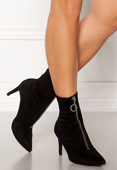 New Look Zip Ankle Boots Black Bubbleroom.eu