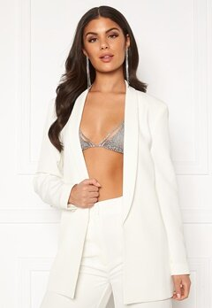 Nicole Falciani X Bubbleroom Nicole Falciani Suit Jacket White Bubbleroom.eu