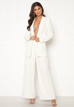 Nicole Falciani X Bubbleroom Nicole Falciani Suit Pants White Bubbleroom.eu