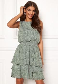 Sisters Point Nicoline Dress 207 L.Khaki/Leo Bubbleroom.eu