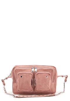 Nunoo Ellie Chain Suede Bag Rose Bubbleroom.eu