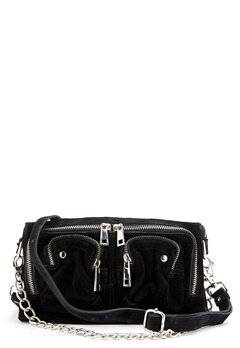 Nunoo Stine Chain Suede Bag Black Bubbleroom.eu