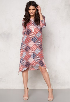 OBJECT Abigail 3/4 Dress Emberglow Bubbleroom.eu