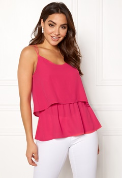OBJECT Aniston S/L Top Bright Rose Bubbleroom.eu