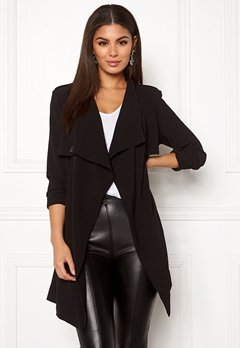 OBJECT Ann Lee Short Jacket Black Bubbleroom.eu