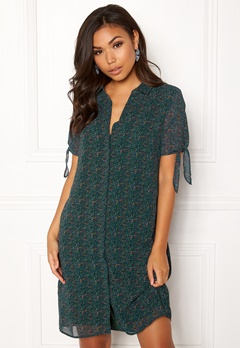 OBJECT Casey S/S Shirt Dress Pine Grove Bubbleroom.eu