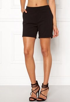 OBJECT Cecilie Shorts Black Bubbleroom.eu