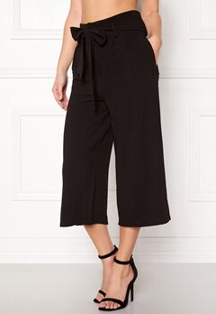 OBJECT Delta hw Coulotte Pants Black Bubbleroom.eu