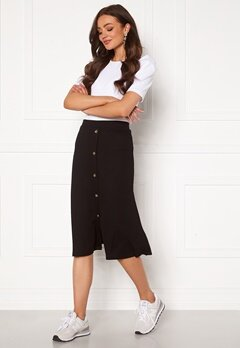 OBJECT Kay Maxi Skirt Black Bubbleroom.eu