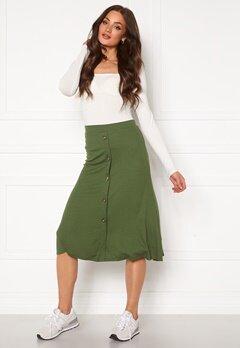 OBJECT Kay Maxi Skirt Burnt Olive Bubbleroom.eu