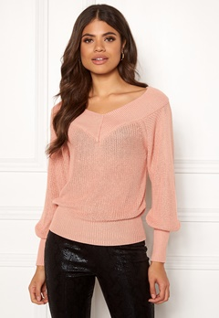 OBJECT Landaz L/S Knit Pullover Misty Rose Bubbleroom.eu