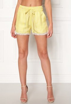 OBJECT Lemony Alena Shorts Neon Yellow Bubbleroom.eu