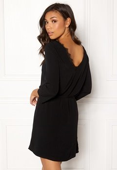 OBJECT Lourdes 3/4 Lace Dress Black Bubbleroom.eu