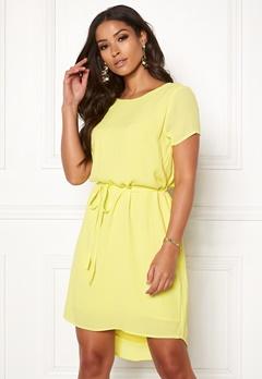 OBJECT Lourdes S/S Lace Dress Elfin Yellow Bubbleroom.eu