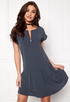 OBJECT Marian S/L Dress Ombre Blue Bubbleroom.eu