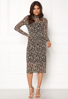 OBJECT Mariann L/S Long Dress Black Bubbleroom.eu