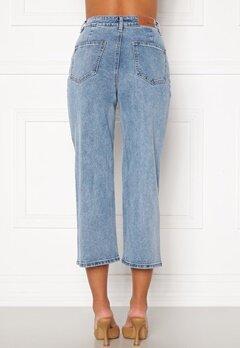 OBJECT Marina MW New Denim Jeans Light Blue Denim Bubbleroom.eu