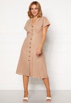 OBJECT Nana S/S Long Dress Humus Bubbleroom.eu
