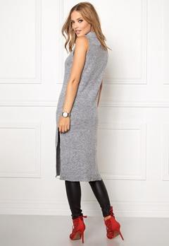 OBJECT Nina nonsia S/L knit Medium Grey Melange Bubbleroom.eu