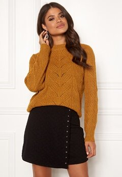OBJECT Nova Stella Knit Buckhorn Brown Bubbleroom.eu