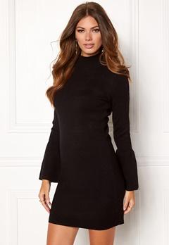 OBJECT OBJCarin L/S Knit Dress Black Bubbleroom.eu