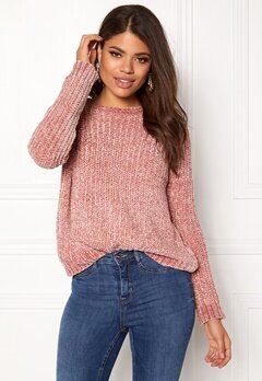 OBJECT Oliviati Knit Pullover Withered Rose Bubbleroom.eu