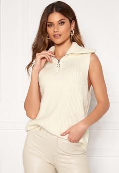 OBJECT Rachel Knit Vest Gardenia Bubbleroom.eu