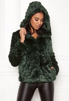 OBJECT Sandie Faux Fur Jacket Pine Grove Bubbleroom.eu