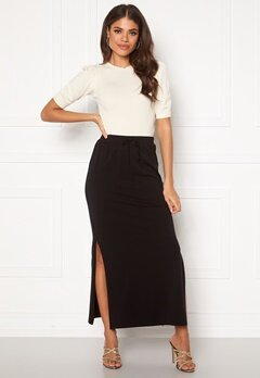 OBJECT Stephanie Maxi Skirt Black Bubbleroom.eu