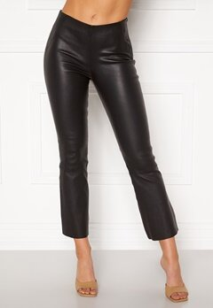 OBJECT Tilde MW Kickflared Pant Black Bubbleroom.eu