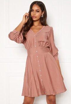 OBJECT Tilli 3/4 Dress Misty Rose Bubbleroom.eu