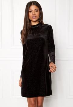 OBJECT Zobia L/S Dress Black Bubbleroom.eu