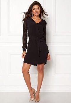 OBJECT Zoe L/S Dress Black Bubbleroom.eu