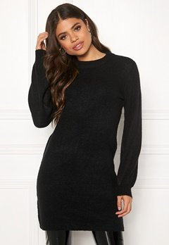 OBJECT Eve Nonsia Knit Dress Black Bubbleroom.eu