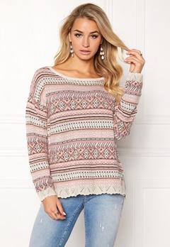 Odd Molly Cozyness Sweater Pink Bubbleroom.eu