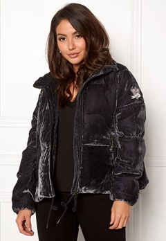 Odd Molly Embrace Velvet Jacket Asphalt Bubbleroom.eu