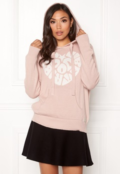 Odd Molly Hey Baby Hood Sweater Pink Sand Bubbleroom.eu