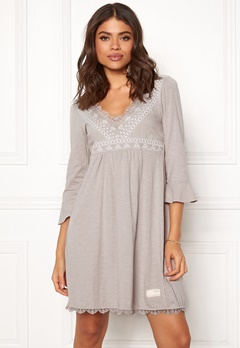 Odd Molly Lace Vibration Dress Ash Bubbleroom.eu