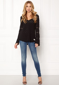 Odd Molly Love Affair Sweater Almost Black Bubbleroom.eu