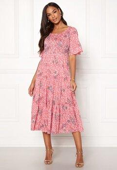 Odd Molly Lush Shake Dress Blush Pink Bubbleroom.eu