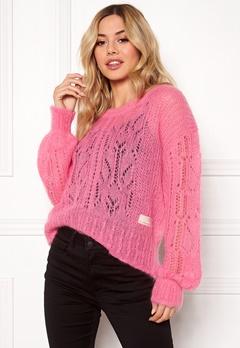 Odd Molly Mystery Fields Sweater Pink Lemonade Bubbleroom.eu