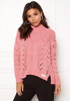 Odd Molly Pathways Sweater Dusty Pink Bubbleroom.eu