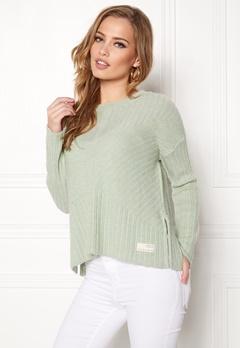 Odd Molly Retreat Sweater Soft Green Bubbleroom.eu