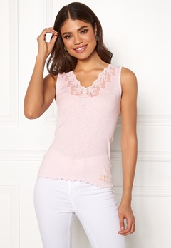 Odd Molly Rib-Eye Tank Soft Rose Bubbleroom.eu